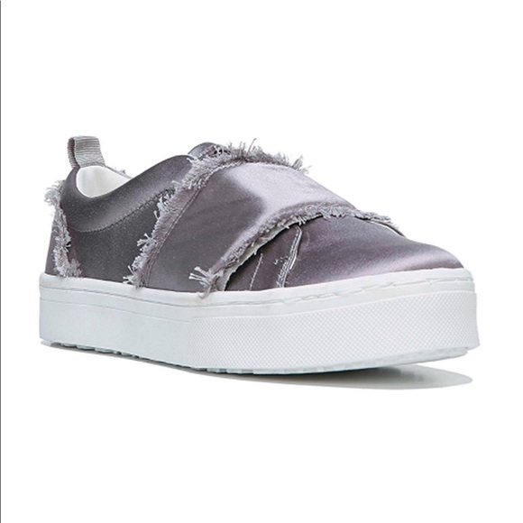 023b5f2f7ed0 Sam Edelman Levine Sneakers- Light Grey Satin